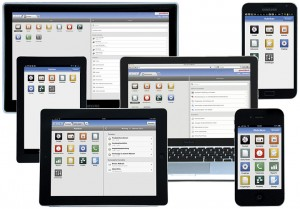 Bei der Smartdesign-Technologie von CAS passt sich die Bedienung via Tastatur, Maus oder Touch dem jeweiligen Endgerät an. (Quelle: CAS)