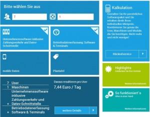 Unter www.dynamics2rent.de können Interessenten einen Blick auf die Mietvariante von MS Dynamics Nav werfen und ein Angebot selbst kalkulieren.