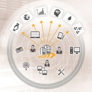 Mobile Device Management gewährleistet das Security Management und ermöglicht die Erfassung aller Geräte sowie die zentrale Administration zu installierender Software, Updates oder Apps. ©: Seven Principles