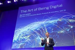 """""""Die Simple Applications stellen den neuen SAP Core dar"""", erläutert SAP-Technikvorstand Bernd Leukert. """"Trotz der Vereinfachung der Applikationen lassen wir keinerlei Funktionalität entfallen."""""""