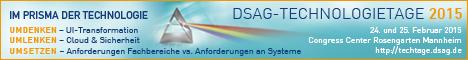 DSAG-Technologietagen 2015