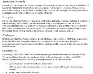 Avanade-Accenture-Strenghts