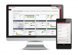 Der IDL.Consolidation.Monitor ist eine Universal Plattform App, die auf PCs, Laptops, Tablets und Smartphones mit dem Betriebssystem MS Windows 10 läuft. Quelle: IDL