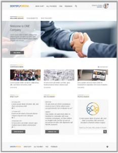 In einer Plattform auf Basis von MS Sharepoint und MS Office 365 haben rund 15.000 Mitarbeiter der fusionierten Medizintechnik-Anbieter Dentsply und Sirona ihre Betriebsabläufe gebündelt. Quelle: IPI GmbH
