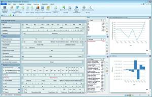 InfoZoom von HumanIT visualisiert sämtliche auszuwertenden Feldinhalte sortiert, werteverteilt und interaktiv auf einer Bildschirmbreite. Quelle: Human IT