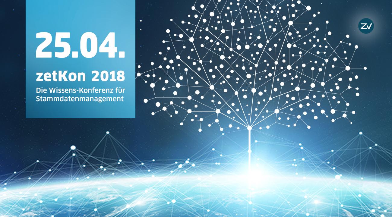 zetKon 2018 | Die Wissens-Konferenz für Stammdatenmanagement